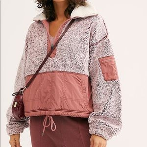 NWT Free People BFF Fleece Pullover